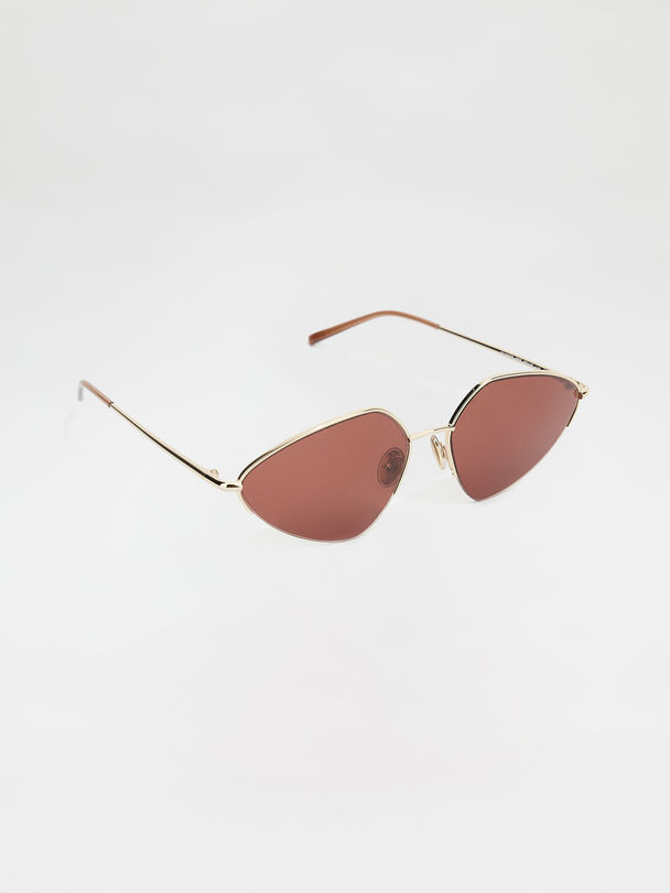 Metal-frame glasses