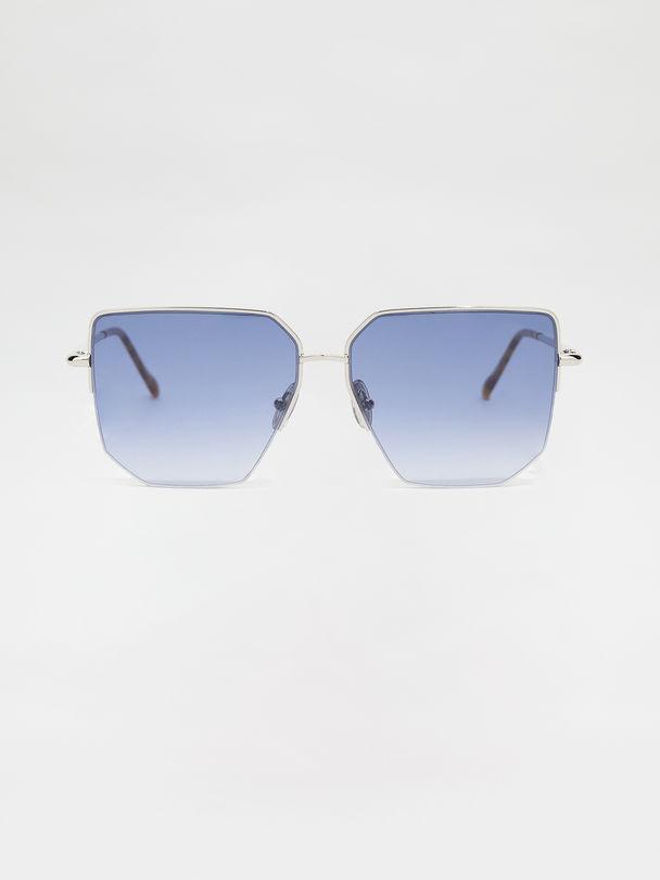 Metal-frame glasses