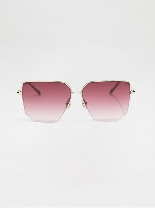 Metal-frame glasses Sportmax