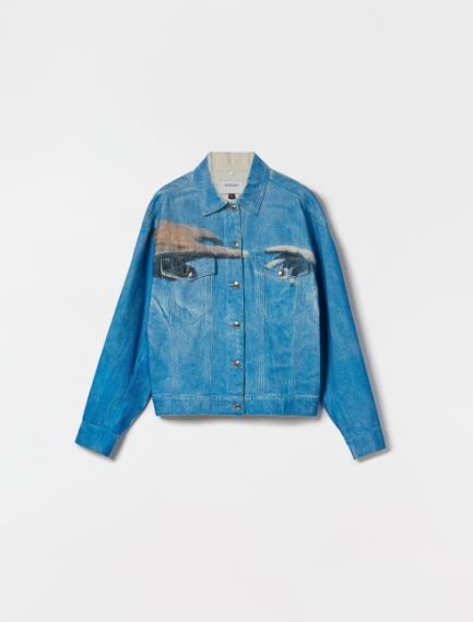Cotton bull denim jacket