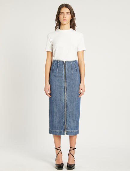 Denim midi skirt Sportmax