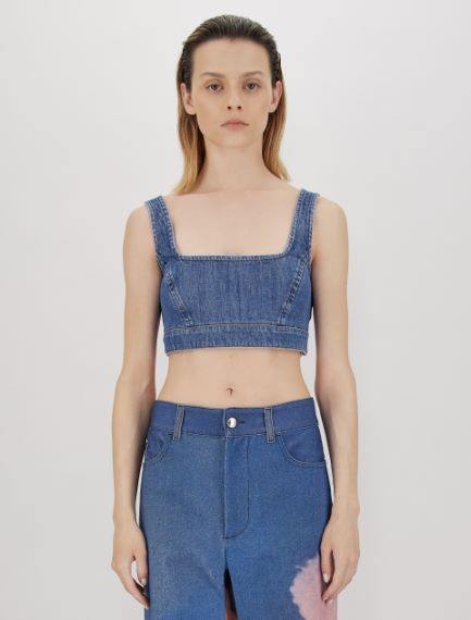 Stretch denim top  Sportmax