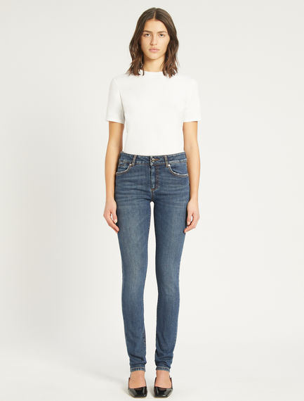Slim-fit 5-pocket jeans