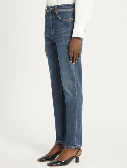 Flared 5-pocket boyfriend jeans