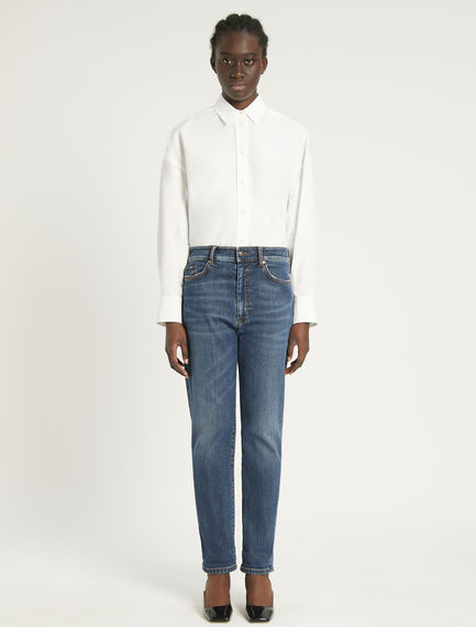 Flared 5-pocket boyfriend jeans Sportmax