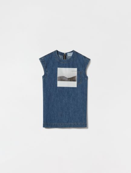 Blusa in denim Sportmax