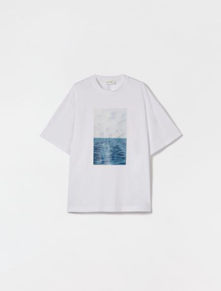 Cotton T-shirt Sportmax