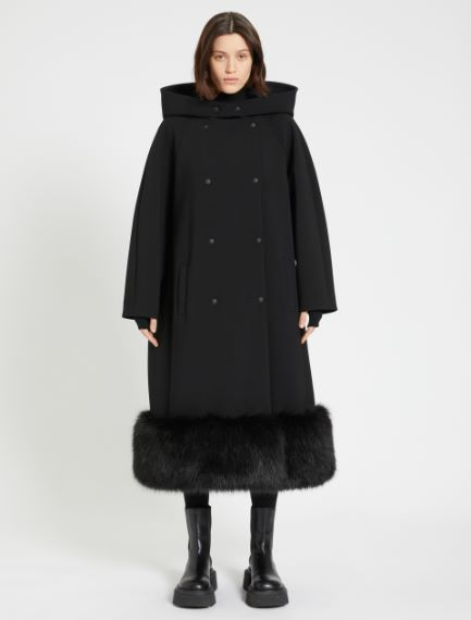 Coat with contrasting flounce Sportmax