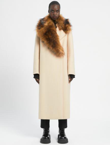 Removable-collar coat Sportmax