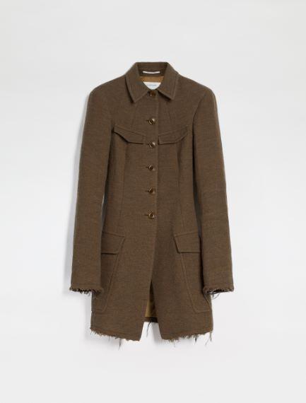 Fitted felted wool blazer Sportmax