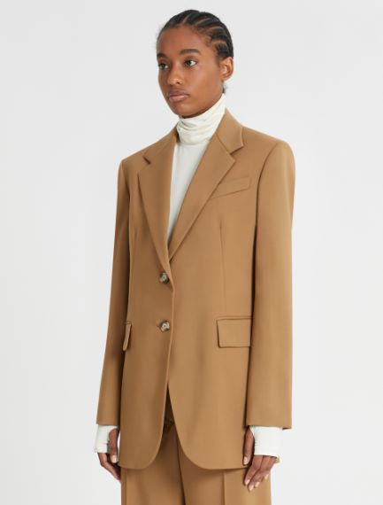 Tailored single-breasted jacket