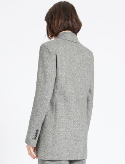 Slim-fit single-breasted jacket