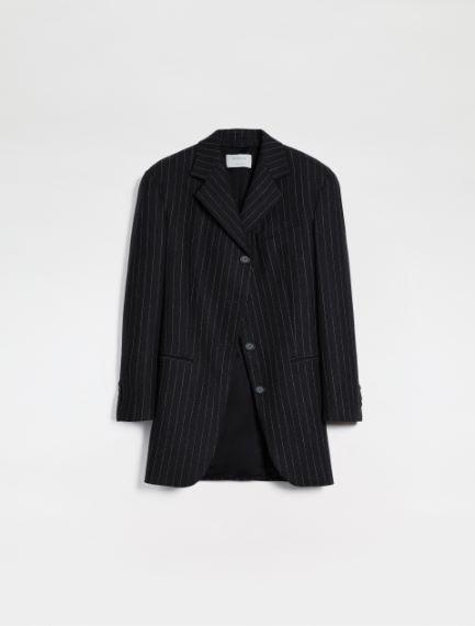 Slim-fit stretch flannel blazer Sportmax