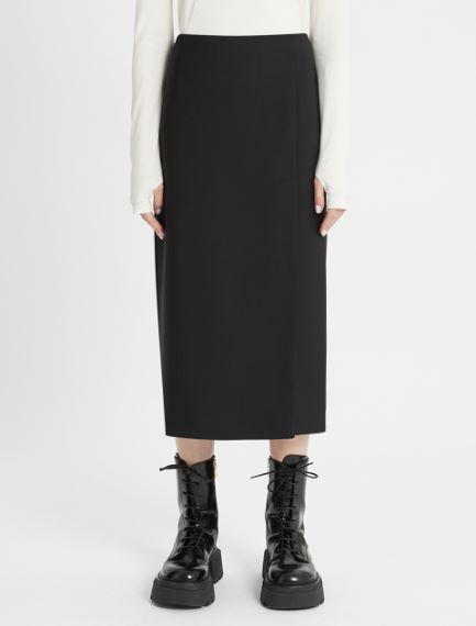 Slit calf-length skirt Sportmax