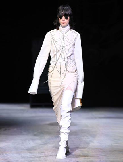 Stretch wool-blend straight skirt Sportmax
