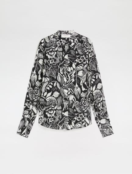 Printed viscose shirt Sportmax