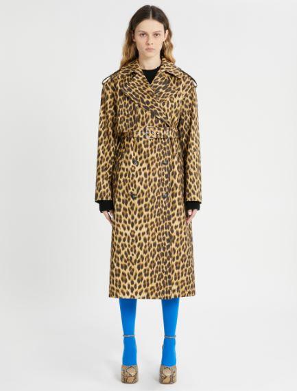 Printed trench coat Sportmax