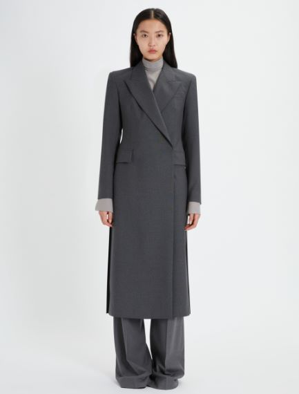 Double-breasted duster coat Sportmax
