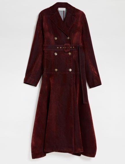 Denim trench coat Sportmax