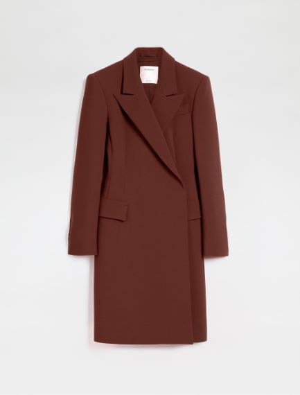 Stretch wool-blend duster coat Sportmax
