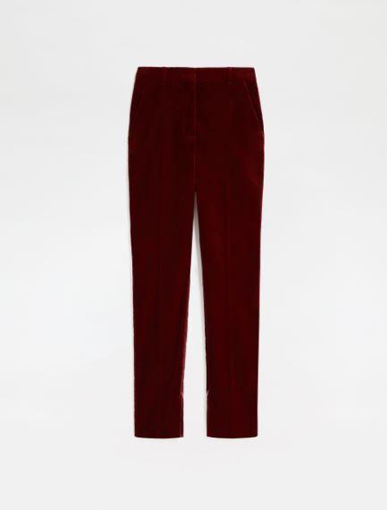 Slim-fit velvet trousers Sportmax