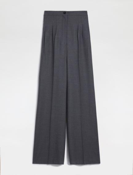 Flannel palazzo trousers Sportmax