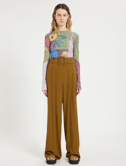 Wide belted trousers Sportmax