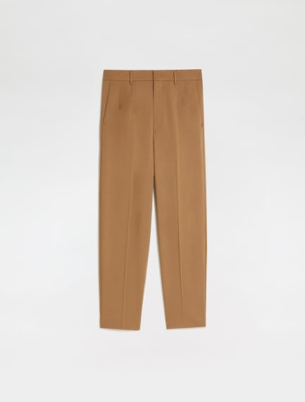 Pleated carrot-fit trousers Sportmax