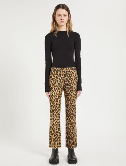 Animal-print trousers Sportmax