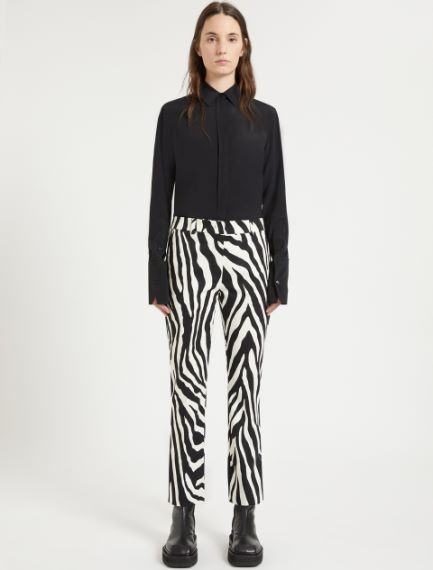 Animal-print trousers Sportmax