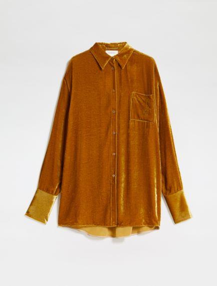 Camicia in velluto Sportmax