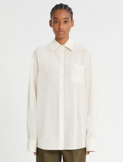 Silk crepe long shirt Sportmax