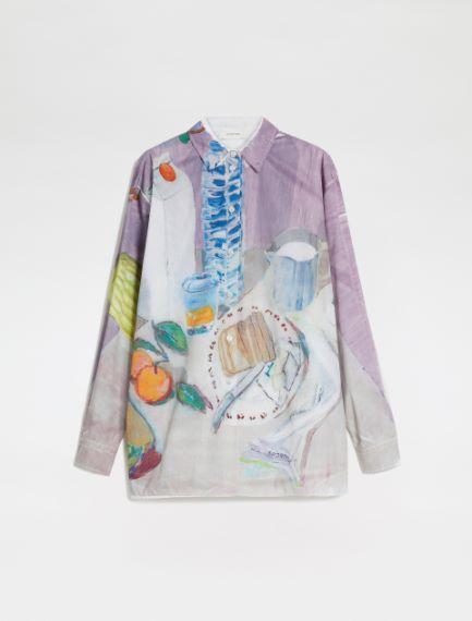 Floral-print shirt Sportmax
