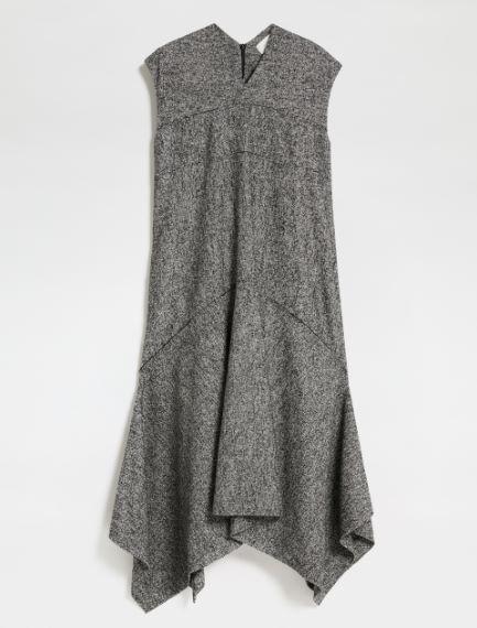 Sleeveless tweed dress Sportmax