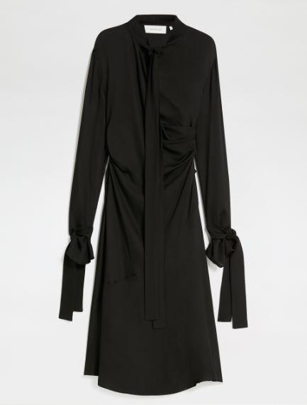 Dress with sash