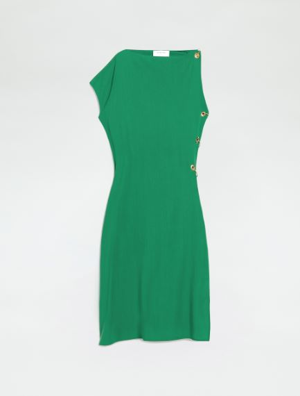 Sleeveless dress with eyelet and piercing detail Sportmax