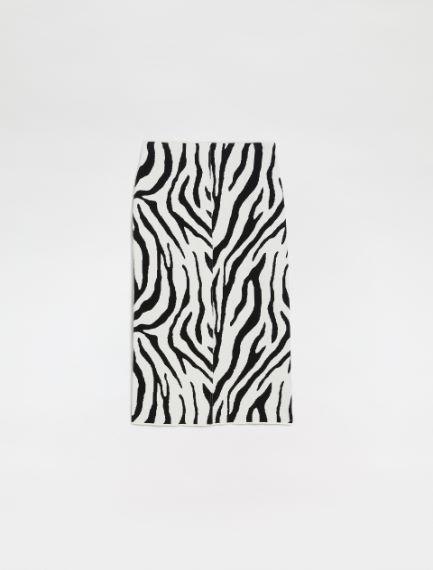 Animal-printskirt