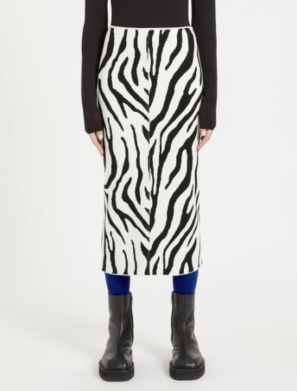 Animal-print skirt Sportmax