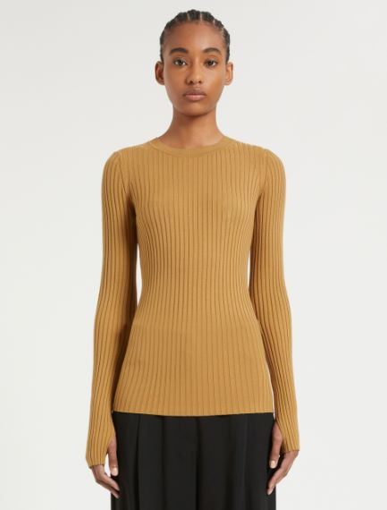 Stretch knit fabric Sportmax