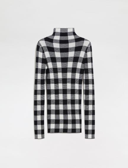 Polo-neck sweater