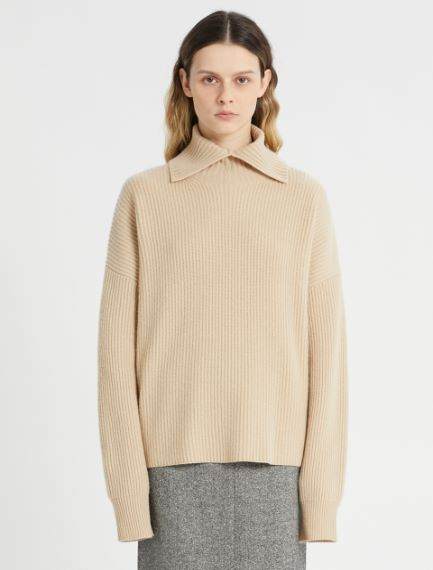 Loose-fit cashmere-blend sweater Sportmax