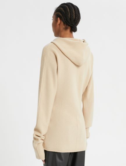 Cashmere-blend hoodie