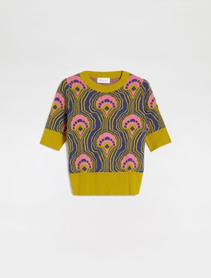 Short-sleeved sweater