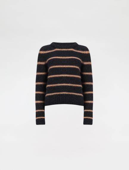 Felted-look crew-neck sweater Sportmax