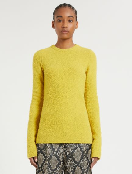 Wool and angora knit shirt Sportmax