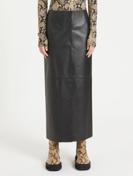 Nappa leather pencil skirt Sportmax