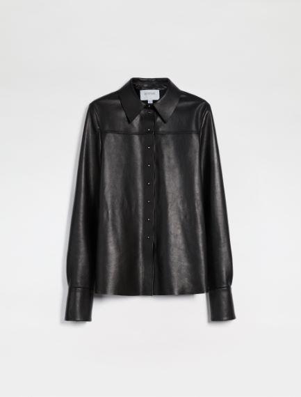 Nappa leather shirt Sportmax