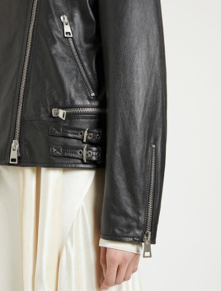 Nappa leather biker jacket Sportmax