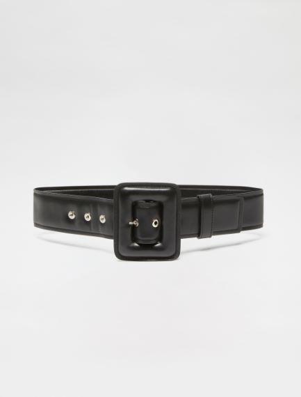 High-waisted Nappa leather belt Sportmax