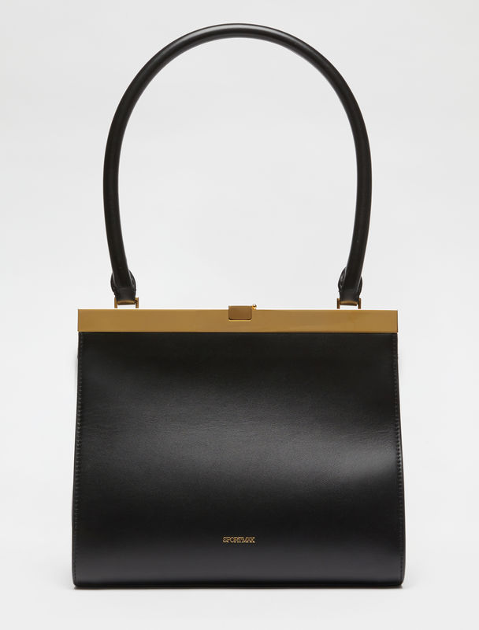 Leather clutch bag Sportmax
